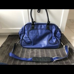 lululemon athletica Bags - Lululemon Rare Leather Gym Bag